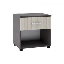 Нощно шкафче Memo.bg модел BM035А, с чекмедже, Босфор с Астра - Нощни шкафчета