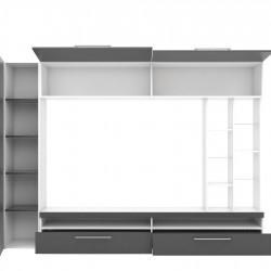 Секция Memo.bg модел BM-Karolina, Антрацид с бяло - Stefany Style