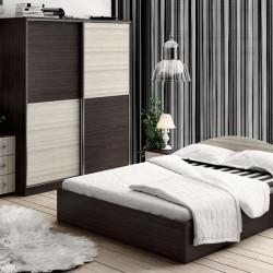 Спален комплект Memo.bg модел BM- А1, легло, гардероб, 2 нощни шкафчета, скрин с огледало   - Stefany Style