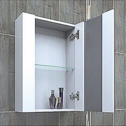 Горен шкаф за баня Vega, PVC - Шкафове за Баня