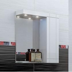 Горен шкаф за баня Rila, LED осветление - Шкафове за Баня
