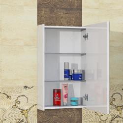 Горен шкаф за баня Bella, LED осветление - Шкафове за Баня