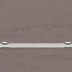 Полица стъкло 700 х 110 мм. - Продукти за баня и WC