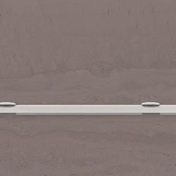 Полица стъкло 550 х 110 мм. - Продукти за баня и WC