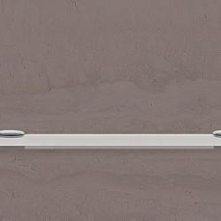 Полица стъкло 650 х 110 мм. - Продукти за баня и WC