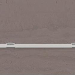 Полица стъкло 1000х110 мм. - Продукти за баня и WC