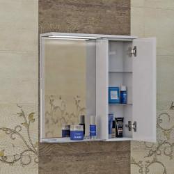 Горен шкаф за баня Korner, LED осветление - Шкафове за Баня