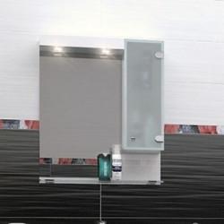 Горен шкаф за баня Lotos, LED осветление - Шкафове за Баня