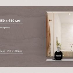 Огледало модел Brescia - Шкафове за Баня
