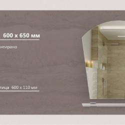 Огледало модел Murano - Шкафове за Баня