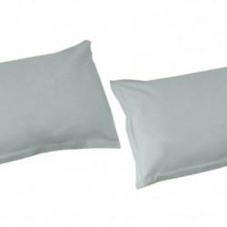 White Boutique Калъфки за Възглавници/ Памучен Сатен Сиво - Спално бельо