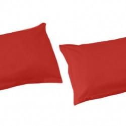 White Boutique Калъфки за Възглавници/ Памучен Сатен Червено - Спално бельо