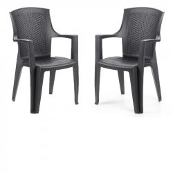 Комплект 2 стола Memo.bg BM-Edina-24 - Градински комплекти
