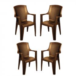 Комплект 4 стола Memo.bg BM-Edina-26 - Градински комплекти