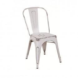 Бар стол Memo.bg модел 12-LOT BM, антично бял - Evromar