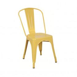 Бар стол Memo.bg модел 12-LOT BM, жълт - Evromar