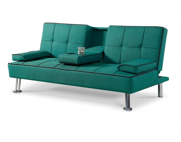 Диван Мебели Богдан модел 3-Verde BM, цвят: тъмна резеда -