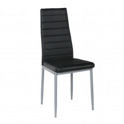 Трапезен стол Memo.bg модел BM204, цвят черен - Evromar