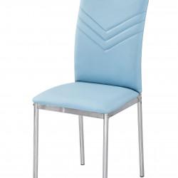 Трапезен стол Memo.bg модел BM207 син - Evromar