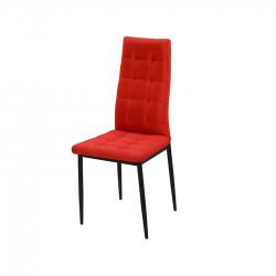 Трапезен стол модел K264, червен - Evromar