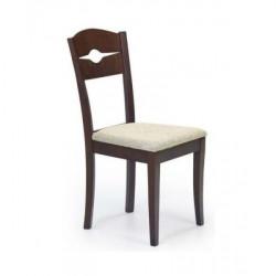 Трапезен стол Memo.bg модел 47-BM Manfred канела, размери: 42/55/90 см, материал: масив бук / дамаска - Evromar