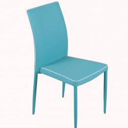 Трапезен стол Memo.bg модел BM227 син, размери: 42/56/91 см - Evromar