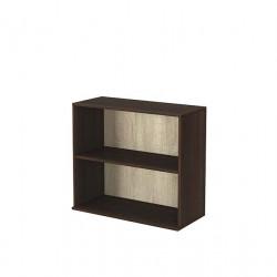 Шкаф - Етажерка 4, венге и дъб сонома - Мебели за детска стая