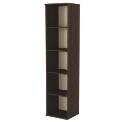 Шкаф с етажерки модел 7, венге с сонома - Мебели за детска стая