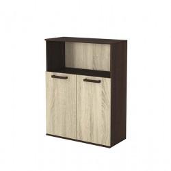 Шкаф с 2 вратички 12, венге и астра - Мебели за детска стая