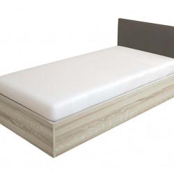 Легло Мебели Богдан модел BM-Kasa, Сонома с Тапицирана Сива табла - Легла