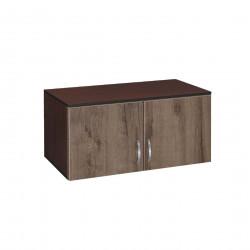Надстройка за двукрилен гардероб Мебели Богдан модел BM-AVA 2, орех с венге - Гардероби
