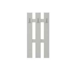 Вертикална закачалка Лола 3-ка - Kolorado