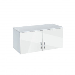 Надстройка за гардероб Memo.bg, модел BM-Ava 2, бял гланц - Гардероби