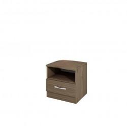 Нощно шкафче Mod 3007, орех адмирал - Нощни шкафчета