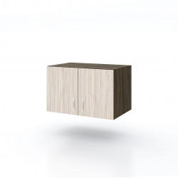 Нощно шкафче Mod 3055, венге и астра - Нощни шкафчета