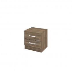 Нощно шкафче Mod 3055, орех адмирал - Нощни шкафчета