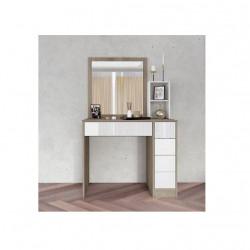 Тоалетка Memo.bg модел 3053, с огледало, МДФ -
