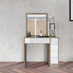 Тоалетка Memo.bg модел 3053, с огледало, МДФ - Тоалетки