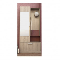Портманто Memo.bg модел 124 / 4005, сонома, с оглдало - Комплекти Мебели