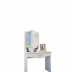 Тоалетка Memo.bg Модел 3048, бяла, с огледало - Тоалетки
