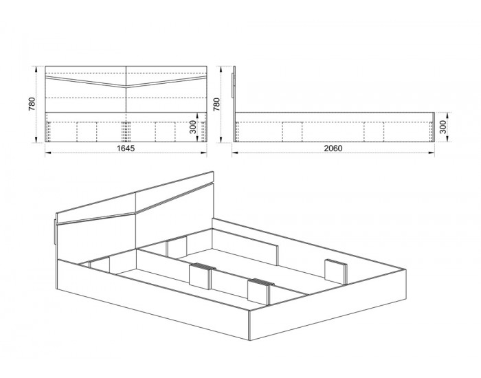 Спалня Модел 172 / 2008,с табла
