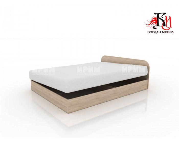 Легло Приста Мебели Богдан модел 3, избор на 4 цвята, с повдигащи механизми