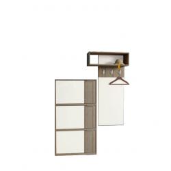 Портманто Memo.bg модел 300, Шкаф за обувки и закачалка - Комплекти Мебели