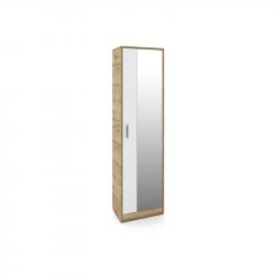 Гардероб Memo.bg модел 220, за антре, с огледало - Комплекти Мебели