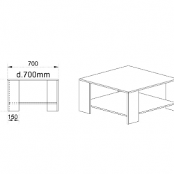 Холна маса Memo.bg, Модел 6226 - Маси