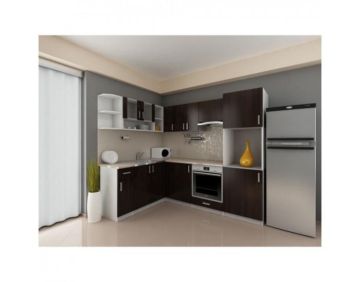 Ъглова кухня Кети - Кухненски комплекти