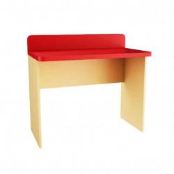 Ученическо Бюро Memo.bg модел BM Lena2, цветове Червено и бежово, 100 / 60 / 90 см - Mipa
