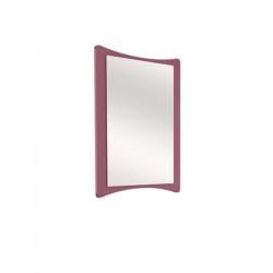 Огледало Memo.bg модел Ina BM 3, ПДЧ 18 мм, Бяло и Виола, 75 / 2 / 100 см - Mipa