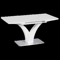Разтегателна трапезна маса модел Lublin - бяла -