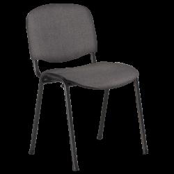 Посетителски стол модел Memo-1130 LUX - сив - Столове
